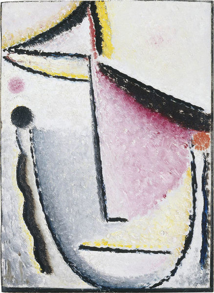 Abstract Head: Pensive, 1929-1930. From a private collection