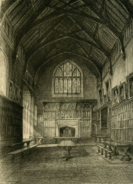 'Interior of the Hall', 1911. Creator: Unknown
