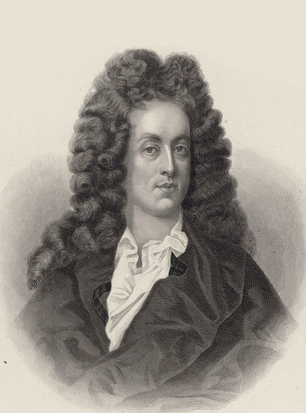 Portrait of the composer Henry Purcell (1659-1695 ...
