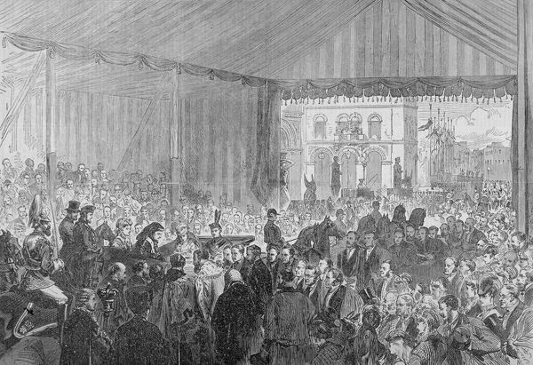Royal Opening Of Holborn Viaduct City Of London 1869