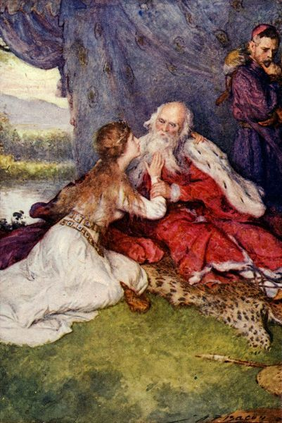 an analysis of edgars quote at the conclusion of william shakespeares play king lear