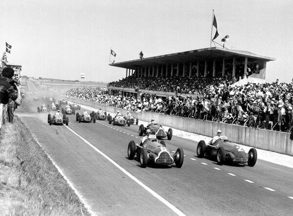 1950 french grand prix start 1950 french grand prix reims france photo prints 7697933. Black Bedroom Furniture Sets. Home Design Ideas
