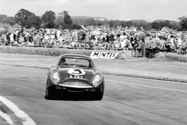 1961 RAC Tourist Trophy: Jim Clark, 4th position, action