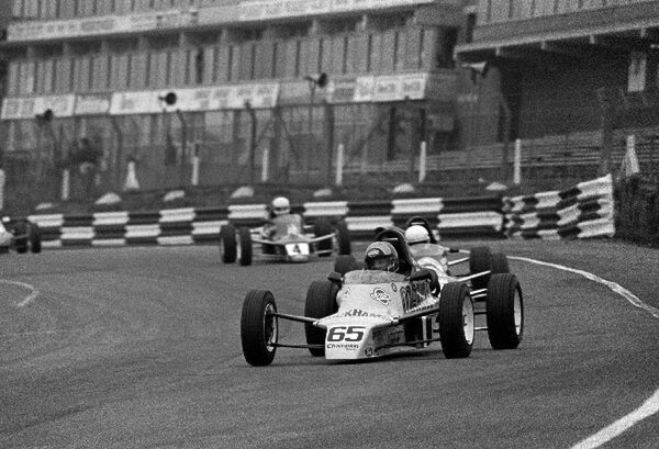 Paulo Carcasci (BRA). British Formula Ford Festival, Brands Hatch, England, 27 October 1985