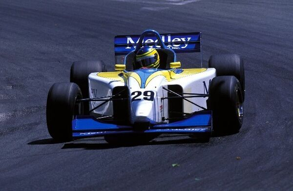Cristiano da Matta (BRA) Pacific Racing Lola Zytek Judd T96/50, 4th place. F3000 International Championship, Rd2, Pau, France. 26 May 1996