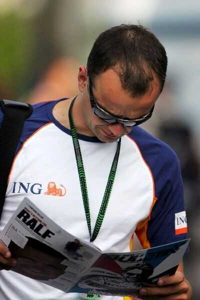 Formula One World Championship: Jeremy Schoones ING account manager reads the Redbulletin