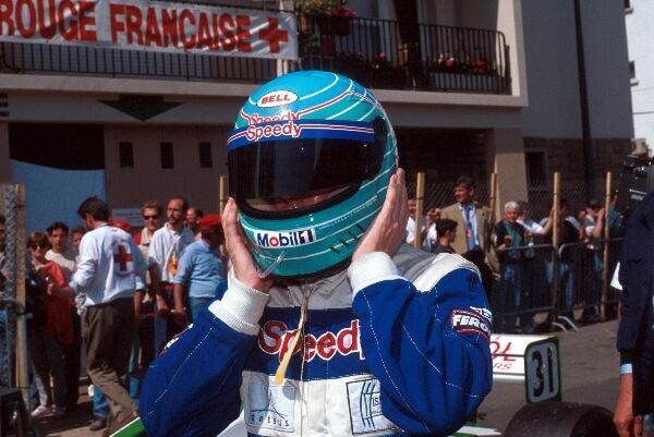 Patrick Lemarie (FRA) Pacific finished fifth. International Formula 3000 Championship, Pau, France, 27 May 1996