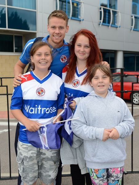 Reading FC Season 2013-14: Sky Bet Championship: Sky Bet Championship : Reading v Watford