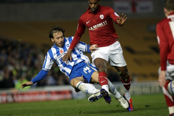 Brighton And Hove Albion Past Seasons: Season 2011-12: 2011-12 Home Games: Barnsley 06-11-11