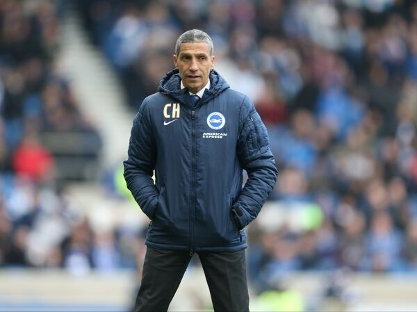 Brighton manager Chris Hughton during the Sky Bet Championship match between Brighton and Hove Albion and Wolverhampton Wanderers at the American Express Community Stadium, Brighton on 14th March 2015