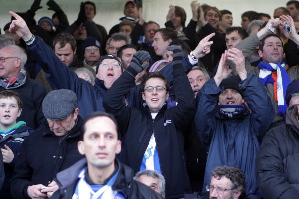 Brighton And Hove Albion Past Seasons: Season 2010-11: Season 2010-11 Away Games: Bristol Rovers