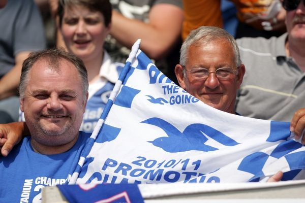 Brighton And Hove Albion Past Seasons: Season 2010-11: Season 2010-11 Away Games: Colchester United