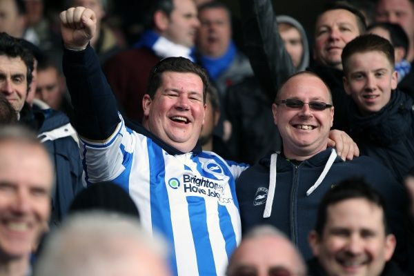 Brighton And Hove Albion Crowd Shots: Crowd Shots Away Days 2012-13
