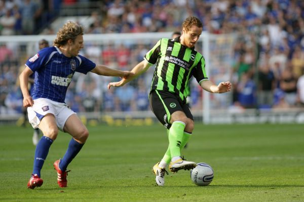 Brighton And Hove Albion Past Seasons: Season 2011-12: 2011-12 Away Games: Ipswich Town - 01-10-2011