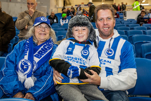 Brighton And Hove Albion Season 2014-15: 2014-15 Home Games: Wigan Athletic 04NOV14