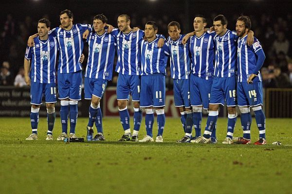 Brighton And Hove Albion Past Seasons: Season 2010-11: Season 2010-11 Away Games: Woking (FAC)