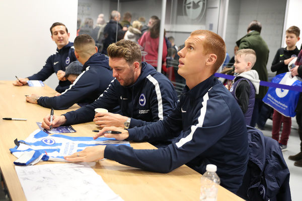 The Young Seagulls Christmas Party at the American Express Community Stadium, Brighton on the 2nd December 2017