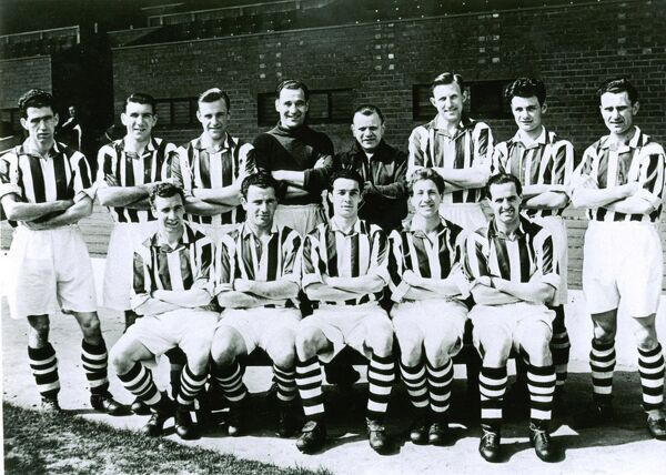 1954 FA Cup winners. Albion's FA Cup winning squad of 1953/54