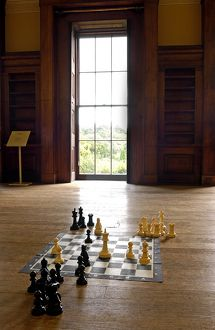 Belsay Hall chess board N070013