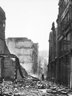 Bomb damage, London 1941 BL5947