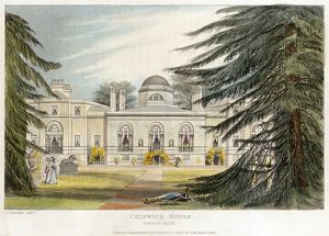 Chiswick House engraving N110156