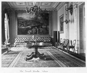 The Council Chamber, Osborne House c.1890 D880037
