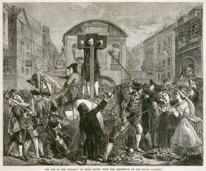 Defoe in the pillory N110160