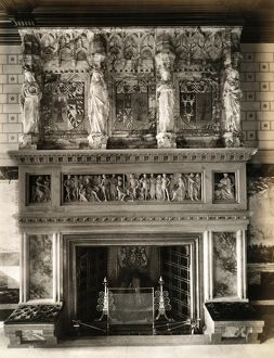 Eaton Hall fireplace, 1887 BL08270