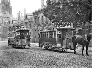 Horse-drawn trams, Oxford c.1905 CC73_01178