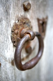 Iron door handle N071560
