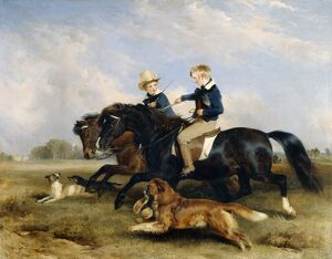 Landseer - The Hon. E. S. Russell and His Brother J960119