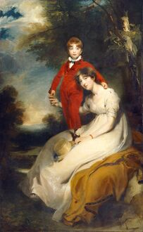 Lawrence - Mrs Charles Thellusson with her Son Charles J940561