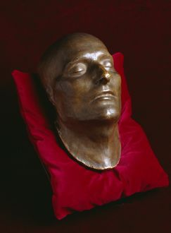 Napoleon's death mask K040686