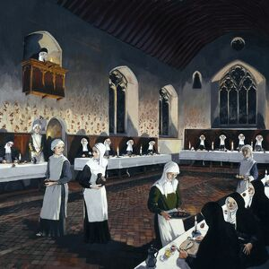 Nuns at Denny Abbey J930289