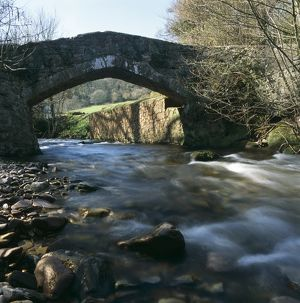 Packhorse bridge, Exmoor K020606