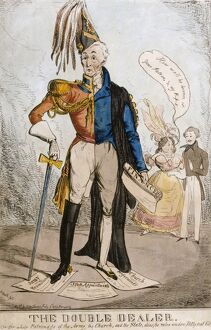 Political cartoon of the Duke of Wellington K021676