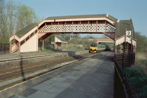 Railway Footbridge, Wilmcote Station