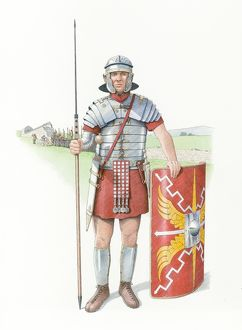 Roman legionary soldier IC048_145