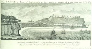 Scarborough Castle engraving N070749
