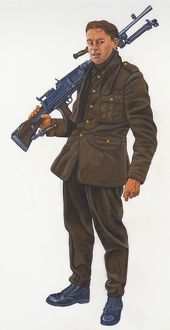 Second World War Gunner N080568