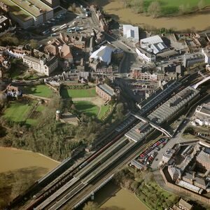 Shrewsbury Castle and station 21129_11
