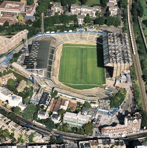 Aerial views of football stadia (Selection of 135 Items)