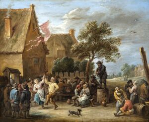 Teniers - A Village Merrymaking at a Country Inn N070476