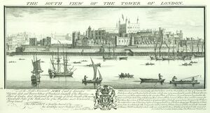 Tower of London engraving N070831