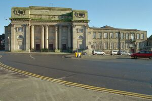 Town Hall and Theatre, Burslem