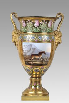 Vase depicting a Quagga, Apsley House N070666