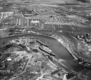 Wearside shipyard EAW001030