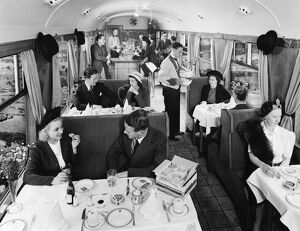 Buffet Car from the 1930s