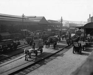Cardiff Newtown Goods Yard, 1924