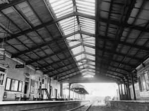 Internal view of Frome Station, c1970s